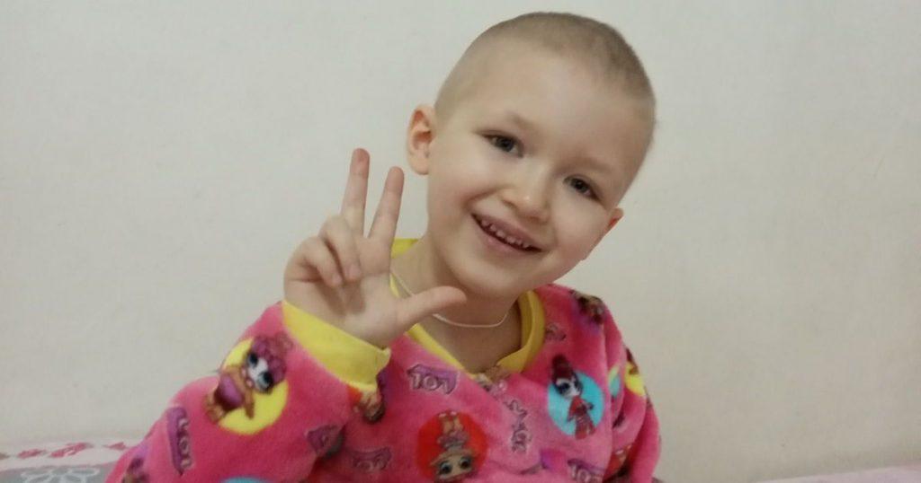 «Услышали страшный диагноз». 5-летняя Вероничка лечится от рака и ей нужна ваша помощь