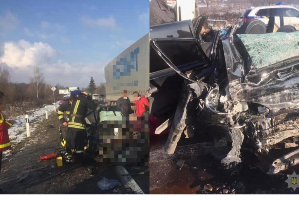 Груда металла на дороге! Жуткая авария на Закарпатье — выехал на встречную полосу. Фура просто раздавила — много жертв