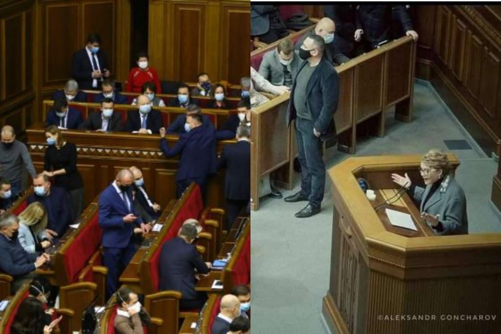 Тимошенко в шоке! «Слуга» шокировал своим поведением — неуважение к женщине. Просто неслыханно — на глазах у всех!
