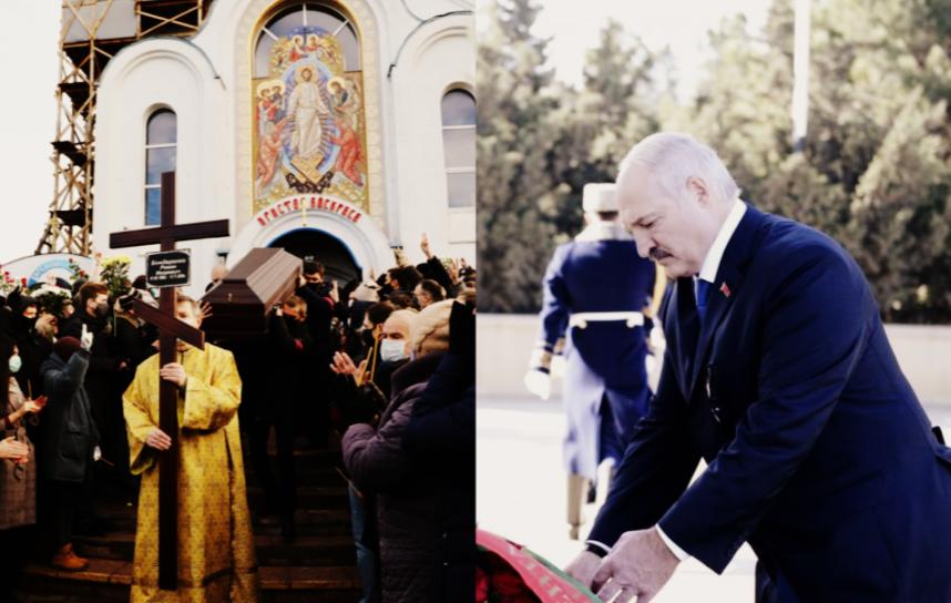 Гроб вынесли! Лукашенко почернел — люди сделали это. Выхожу — заткнули его. Такого Беларусь еще не видела!