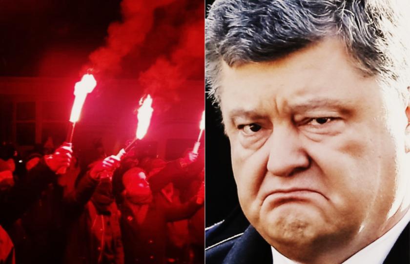 В тюрьму! Поздно ночью — сразу после бунта, Порошенко прозрел. Такого не ожидал никто — смели!