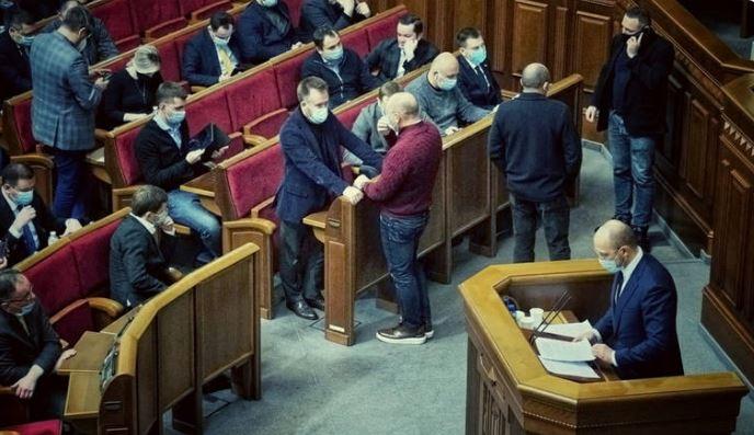 Это позор! Депутаты «надругались» над Шмыгалем. Просто в Раде — неуважение. Страна в шоке!