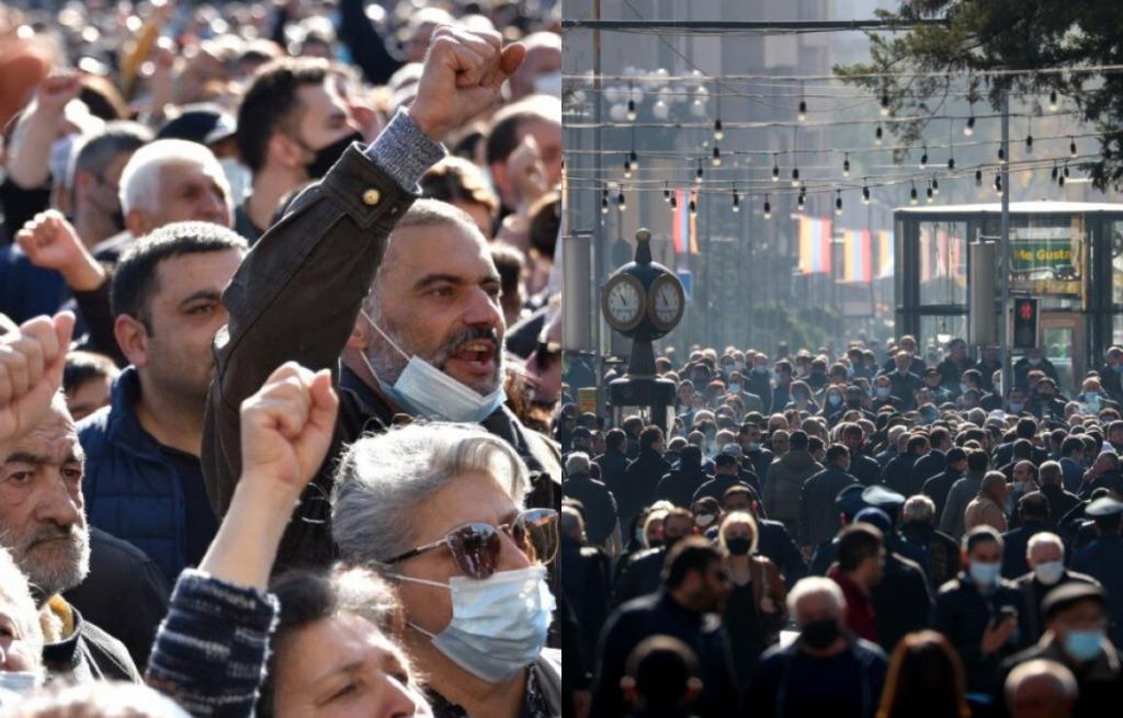 Предатель! В центре столицы — жесткий ультиматум правительству: в отставку! Люди вышли — ситуация сложная. Армению трясет