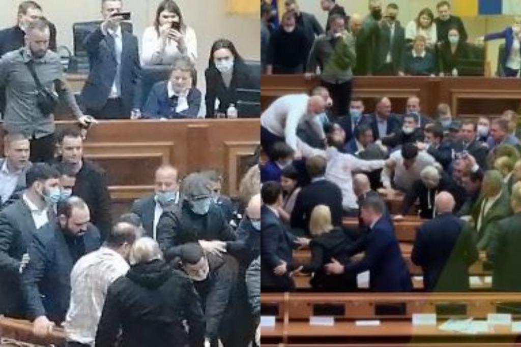 Поздно ночью! Депутаты шокировали — массовая драка. Разбитая мебель и ругань — в зале происходило немыслимое. Никто не ожидал!