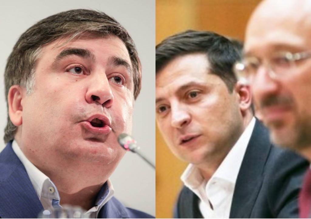 Только что! Саакашвили не удержался — Зеленский в шоке. Ничего не делали, облава началась. Шмыгаль побледнел