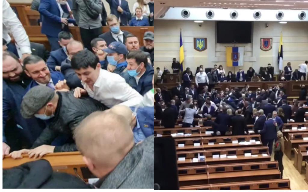 Зеленский в шоке! Депутаты устроили немыслимое — массовое «побоище». Страна гудит, шокирующие детали