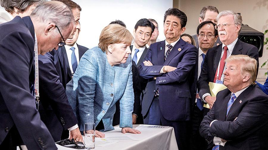 После штурма! Трамп побледнел, Меркель не удержалась — гнев и печаль. Уже через две недели: новая глава