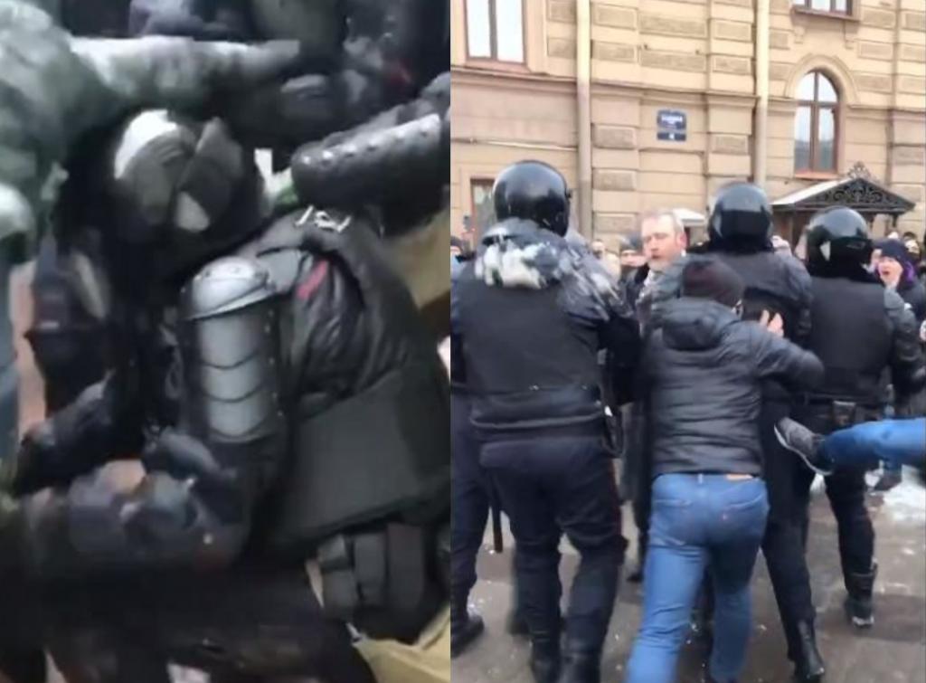 Россия на ногах! Люди восстали — массовые протесты. Полиция безжалостная — избиения и задержания. На улицах хаос!