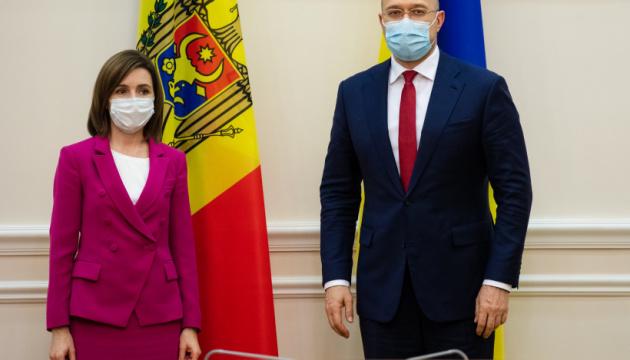 Просто сейчас! Шмыгаль и Санду договорились — сразу на встрече. В кратчайшие сроки — украинцы аплодируют!