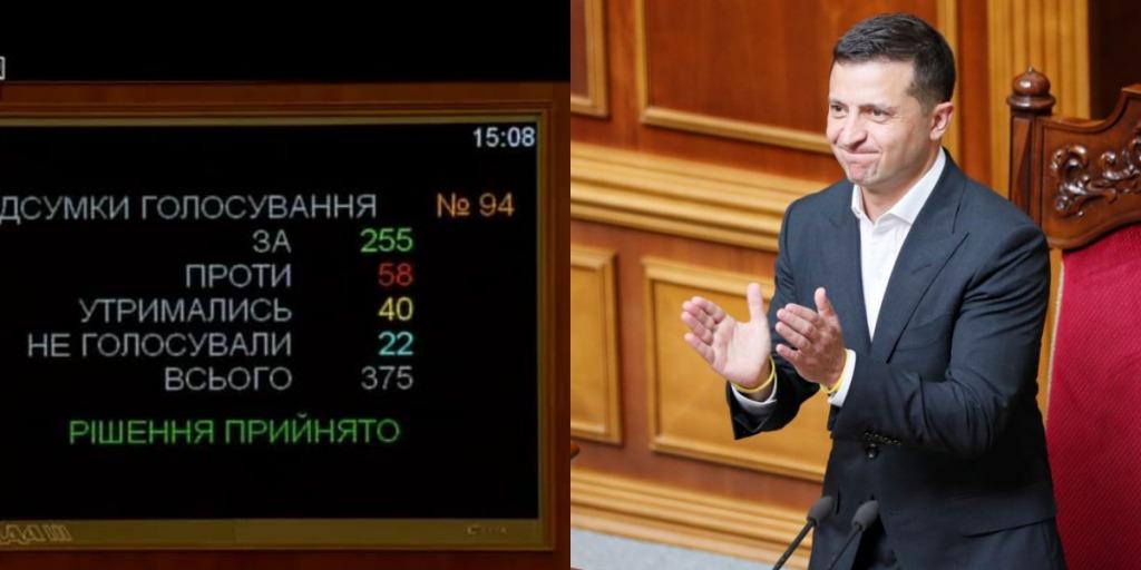 За 255 депутатов! Принято судьбоносное решение — теперь все изменится, это наконец-то произошло. Зеленский аплодирует
