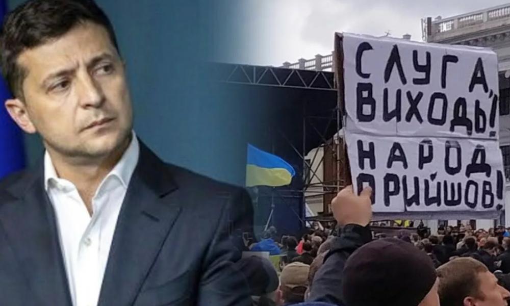 Прямо сейчас! Зеленский не ожидал — терпение людям лопнуло. Они солгали — политикам на Майдане не место!