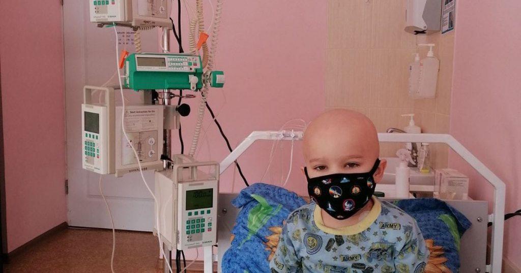 У малыша онкология! Помогите спасти жизнь 4-летнего Саши