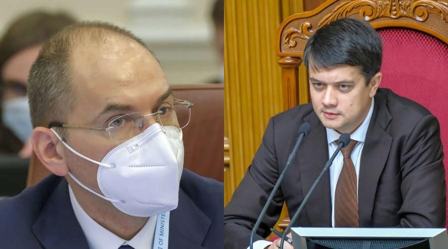 Просто в Раде! Разумков влупил — Степанов побледнел: недоверие. Министру конец, началось!