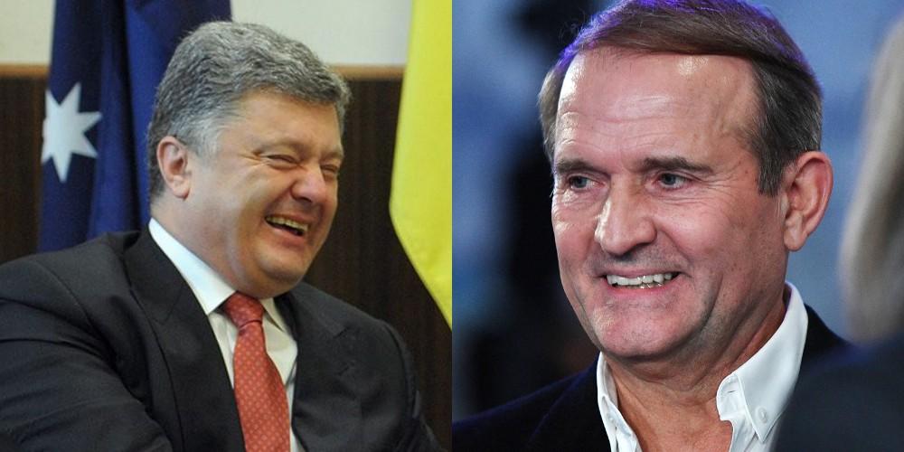 Срочно! Порошенко и Медведчук ведут одну игру — разговор услышали все. «Гетьман» присел — уголовное дело!