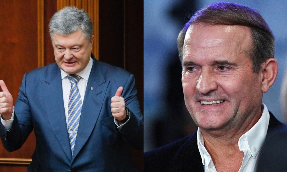 Предатель! Порошенко пошатнулся, тайное соглашение с Медведчуком: два сапога — пара. Произошло немыслимое