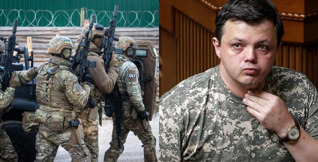 В эти минуты! СБУ ворвалась — Семенченко не ожидал, его взяли. После допроса — люди вышли, началось!