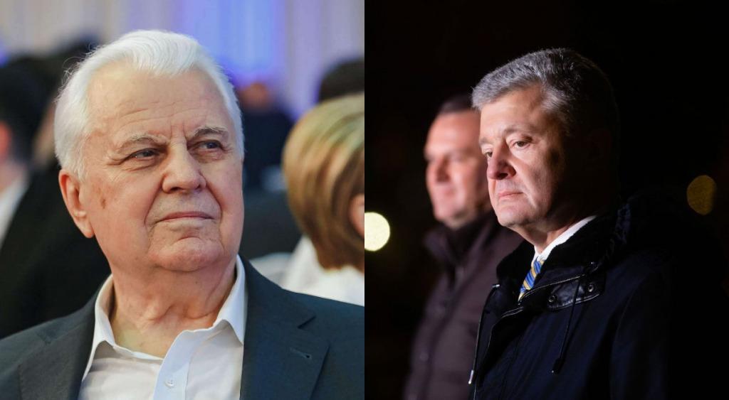 В эти минуты! Кравчук сказал всю правду — разоблачил Порошенко: он согласился — просто во время встречи!