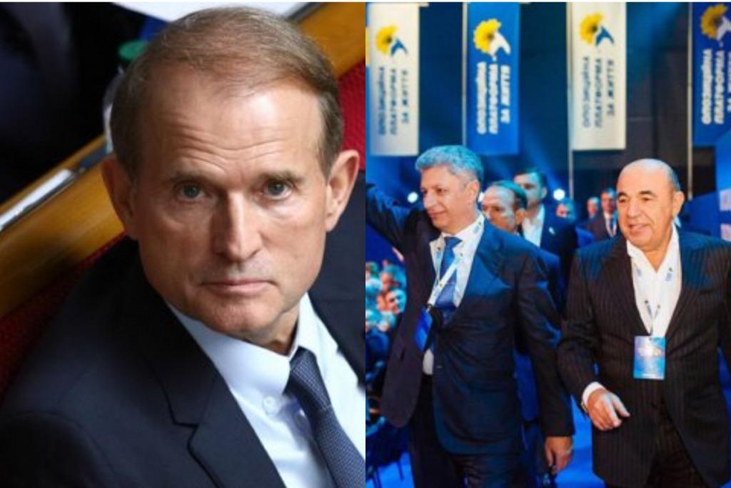 ОПЗЖ все — Медведчук шокировал, «кинул» партию. Рабинович в ауте — окончательный слив. Началось неожиданное!