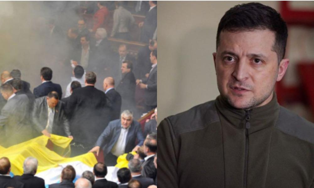 Только что! У Зеленского влепили: денонсировать соглашения — депутаты в шоке, им конец — предали интересы украинцев! Гнать их