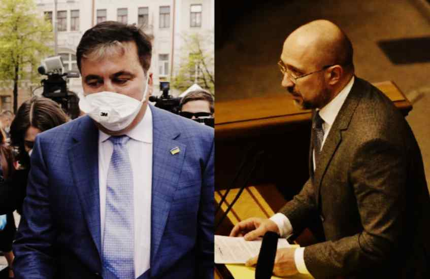 Зеленский не ожидал! Саакашвили разоблачил карты — Шмыгаль побледнел. Нагло и тупо оседают в «кормушках»