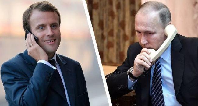 Пока мы спали! Макрона выдал, перешел красные линии- санкции. Путин не ожидал!