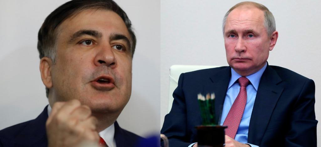 Просто в эфире! Саакашвили в ярости — снес Путина: встанет на защиту — оккупанты в истерике. Это война, страна на ногах!