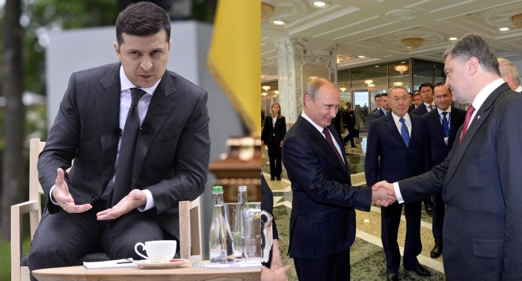 Срочно! Порошенко в шоке — правду услышали все: Зеленский мощно влупил — Путин нервничает, удар от США!