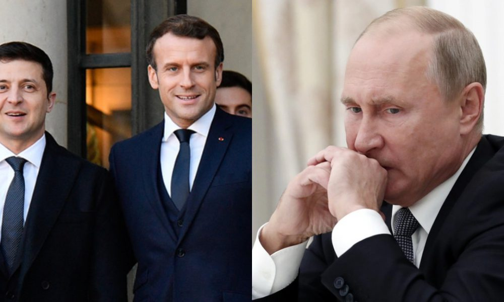 Это произошло! НАТО на границе — Зеленский выбил, просто в Париже. Корабли зашли — Путин выпал, это крах!