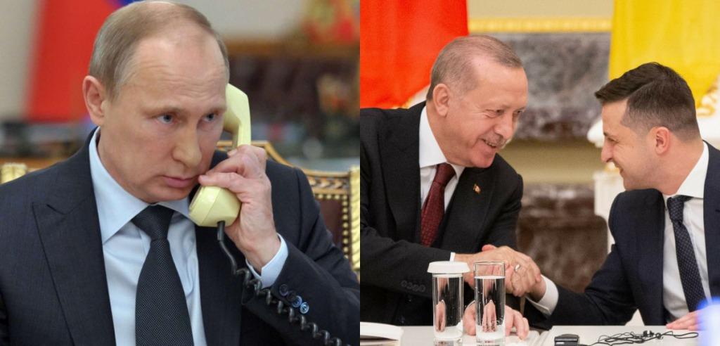 Просто перед визитом! Путин решился на немыслимое — во время разговора с Эрдоганом. Зеленский не ожидал!