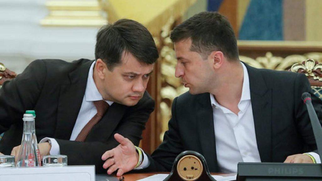 Председатель Верховной Рады Дмитрий Разумков прогнозирует судебные разбирательства в связи с заменой главы «Нафтогаза»