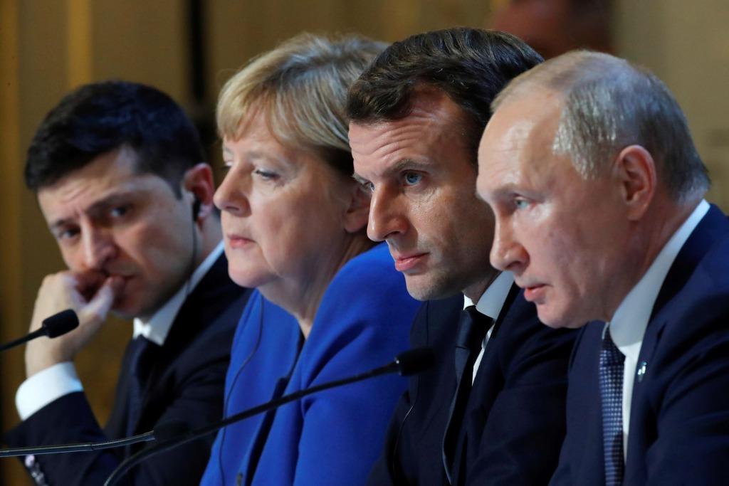 Вывести войска! Путину досталось — прямо во время встречи: Зеленский влупил — Украина в НАТО!
