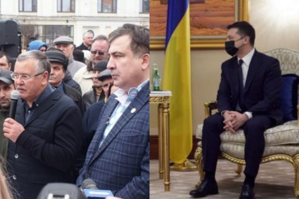 Просто сейчас! Саакашвили заткнул его — Гриценко не ожидал. Несмотря ни на что — Зеленский сможет!