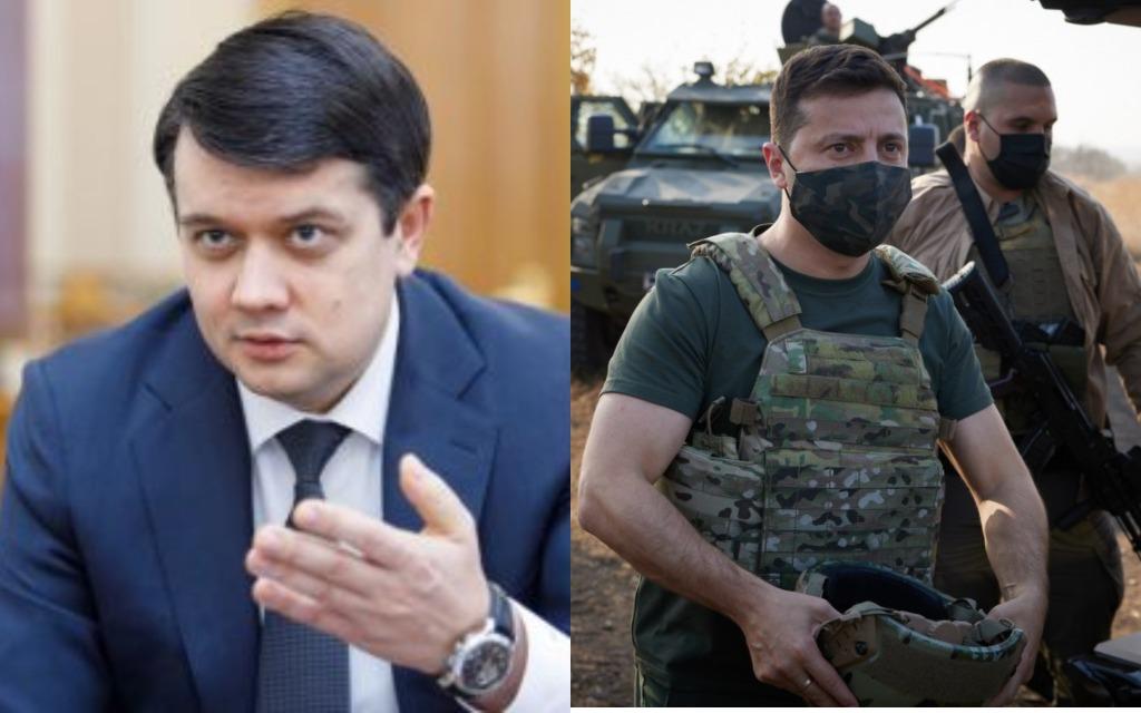 В эти минуты! Разумков не стал молчать: возможность введения военного положения! Зеленский поддержал — оснований нет!