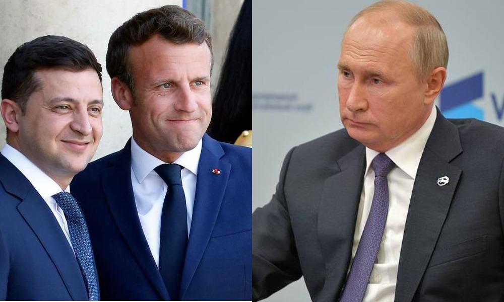 Переговоры с глазу на глаз! Просто в Париже — капитуляция: Путина уничтожили, шантаж Кремля — Зеленский разнес! Путь в НАТО