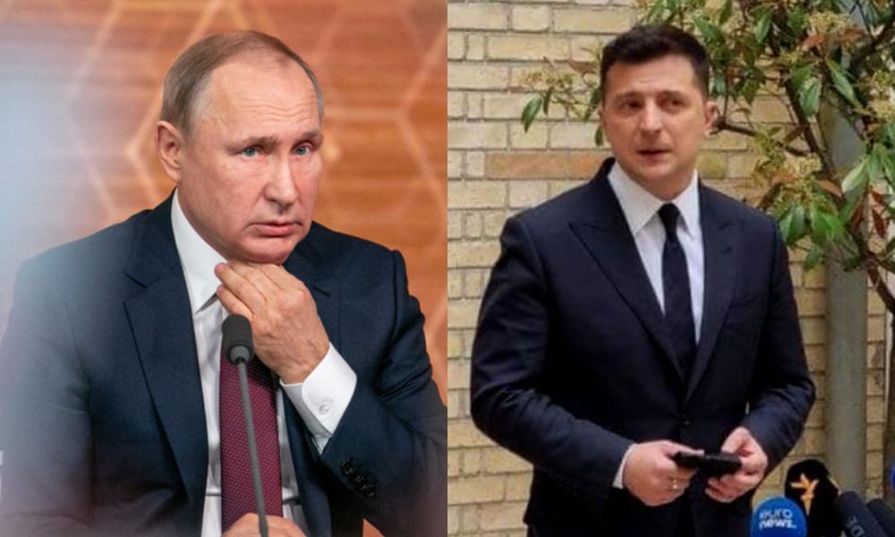 Обмен «всех на всех»! После встречи с Макроном — Зеленский не сдержался: Россия и сепаратисты, Путин в ауте! Вся правда