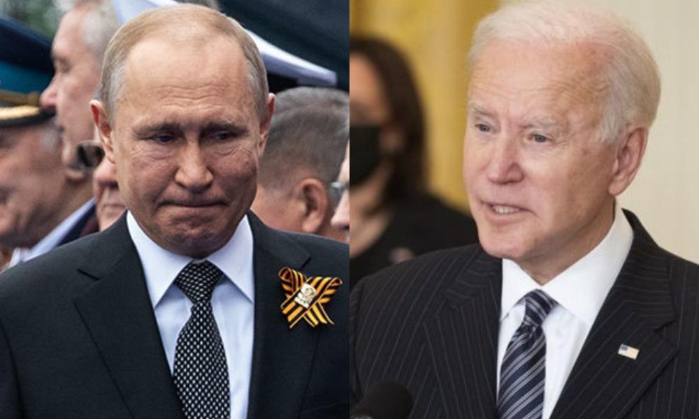 Готовит агрессию! На чужой территории — Путина разоблачили, перед встречей с Байденом — российская пропаганда! Не стремится к миру