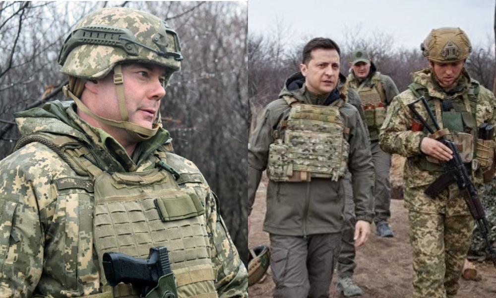 Сейчас угрозы российского вторжения в Украину нет, — командующий объединенных сил ВСУ Сергей Наев