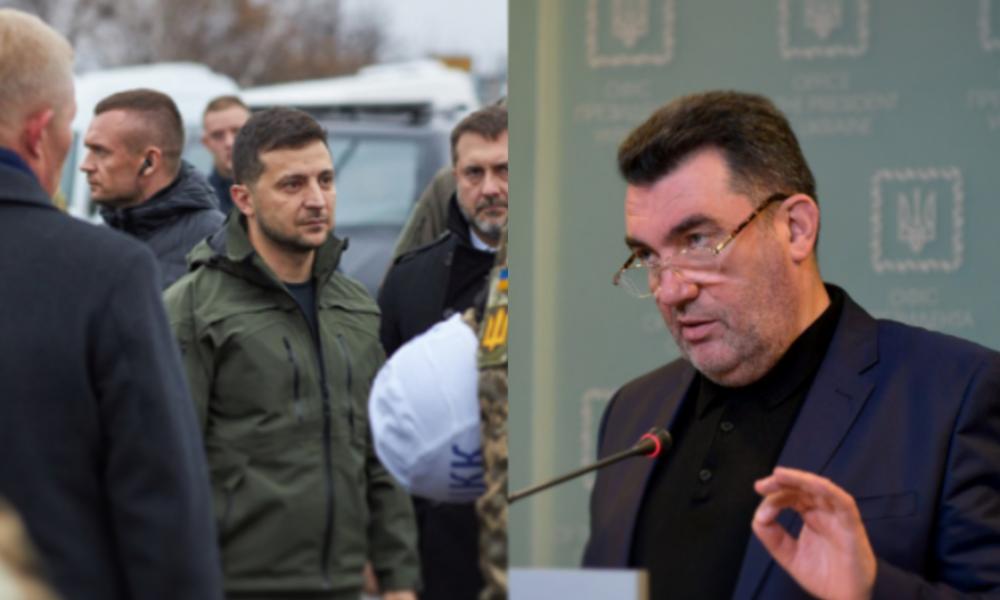 В эти минуты! Данилов влупил — на границе. Зеленский в ярости — убрать всех! Сразу после поездки