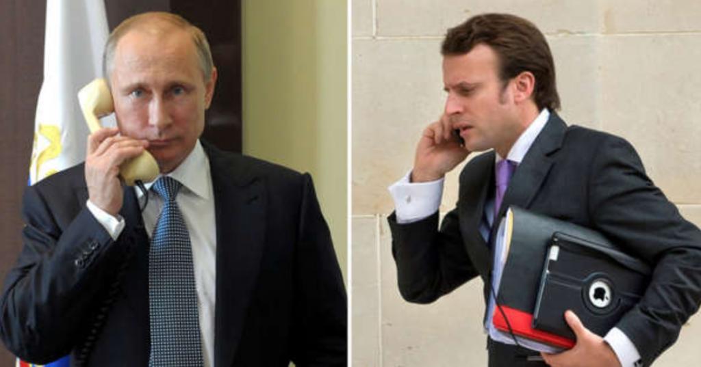 Утром! Макрона выдал, срочный звонок — немедленно отвести войска. Путин не ожидал!