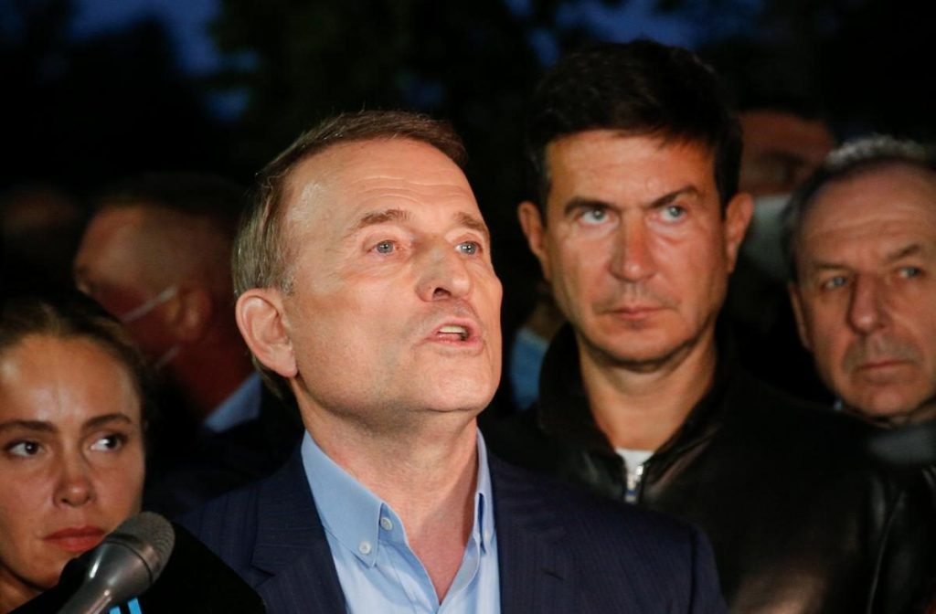Прокуратура обжаловала меру пресечения Медведчуку