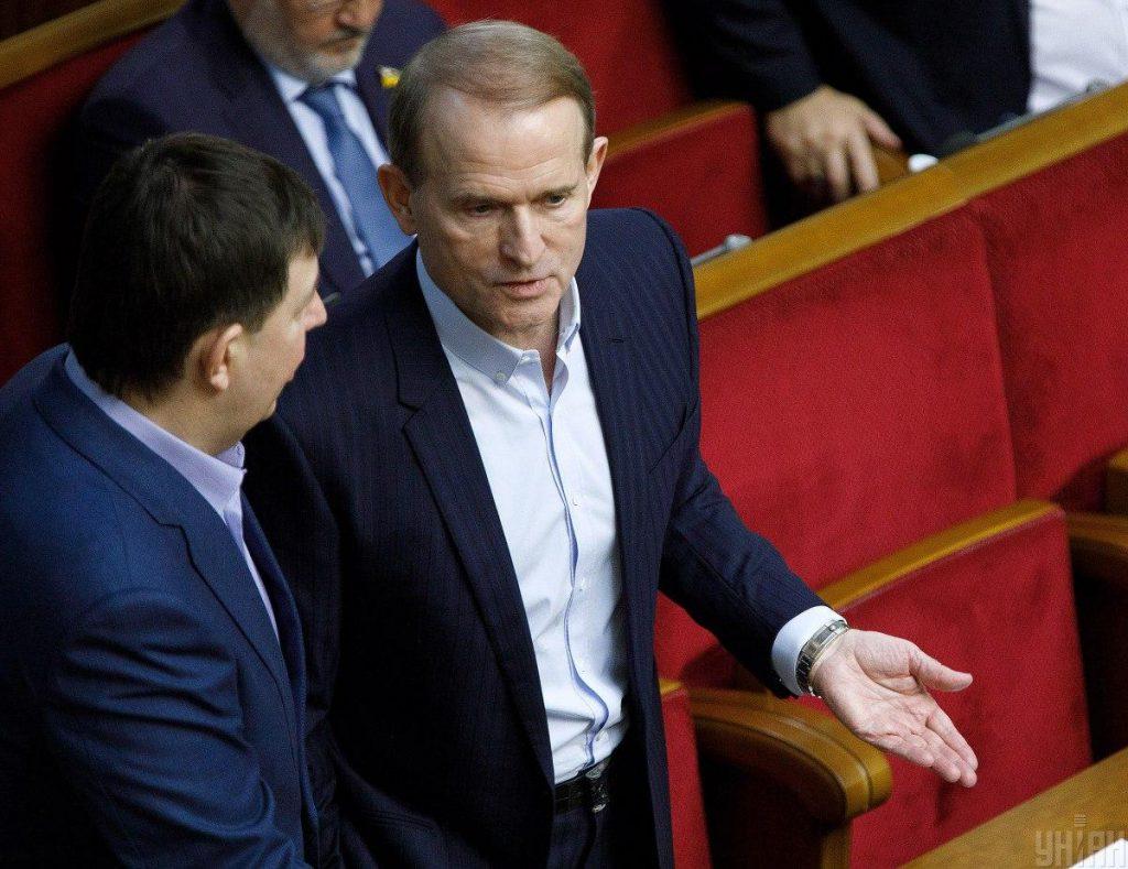 Генпрокурор Венедиктова опровергла слова Медведчука о лечении Козака в Беларуси