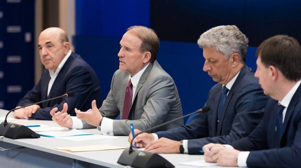 Волынские депутаты просят запретить «ОПЗЖ» и «Партию Шария»