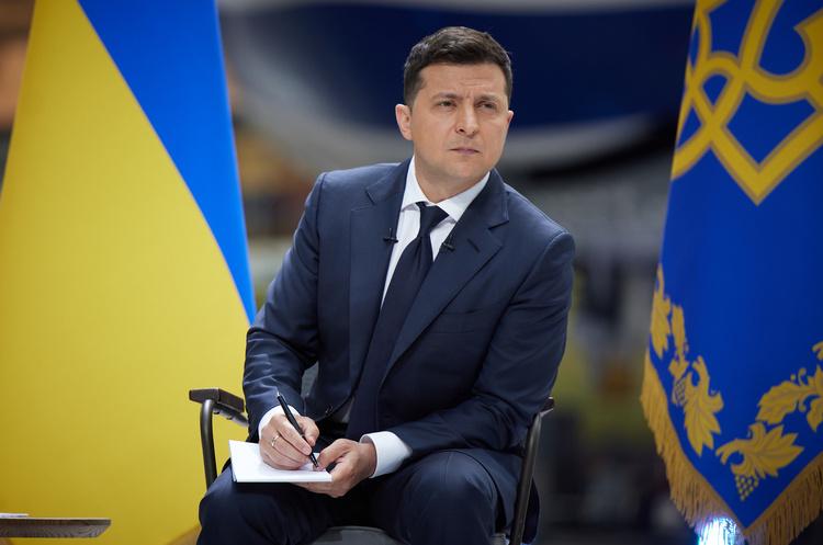 Зеленский утвердил санкции СНБО: под ограничения попали Аксенов, Пушилин и пропагандисты РФ