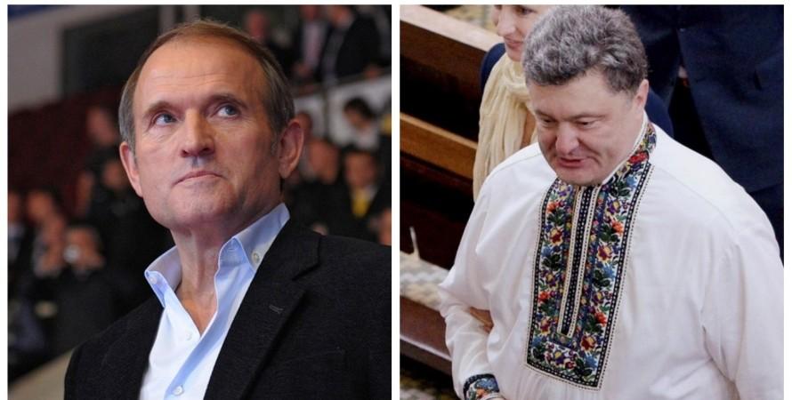 Почему Порошенко не ввел санкции против каналов Медведчука