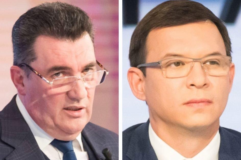 Данилов обвинил экс-политика в том, что он «ест российский хлеб и исповедует Путина» – скандал в прямом эфире
