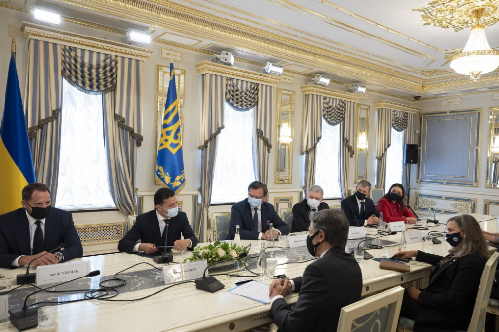 Блінкен заявив, що Україна досягла певного прогресу