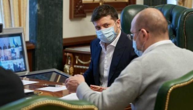 Ситуацию с заболеваемостью COVID-19 и ход вакцинации в Украине обсудили на совещании у Президента