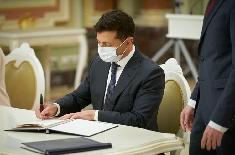 Зеленский ввел в действие решение СНБО