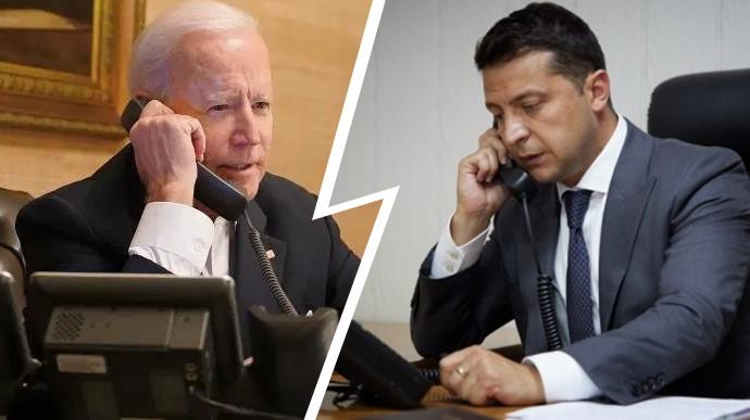 Готовится телефонный разговор между Зеленским и Байденом перед его встречей с Путиным в Женеве, — СМИ