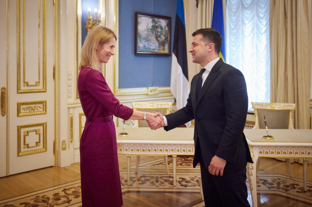 Эстония подписала документ о готовности поддержать вступление Украины в ЕС